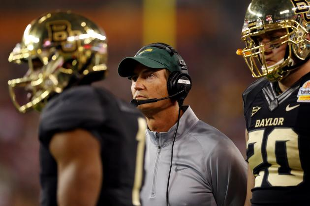 Fiesta Bowl 2014: Will Baylor's Loss to UCF Scare Texas off Art Briles?