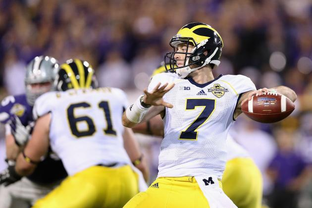 Michigan Football: 3 Ways Shane Morris Can Develop into Star QB for Wolverines