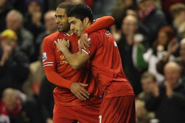 Luis Suarez Played Through Injury to Inspire Liverpool Win over Hull