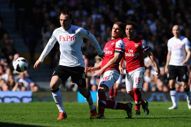 Dimitar Berbatov Would Be a Good Short-Term Solution for Arsenal