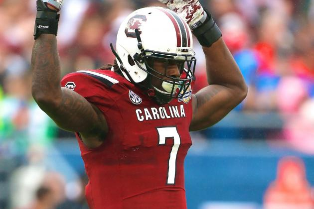 Capital One Bowl 2014: Jadeveon Clowney Reminds Us Why He's so Special