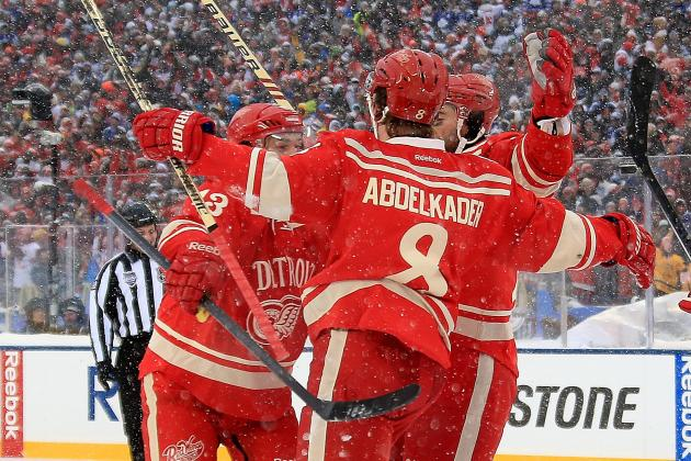 Detroit Red Wings Mid-Season Grades
