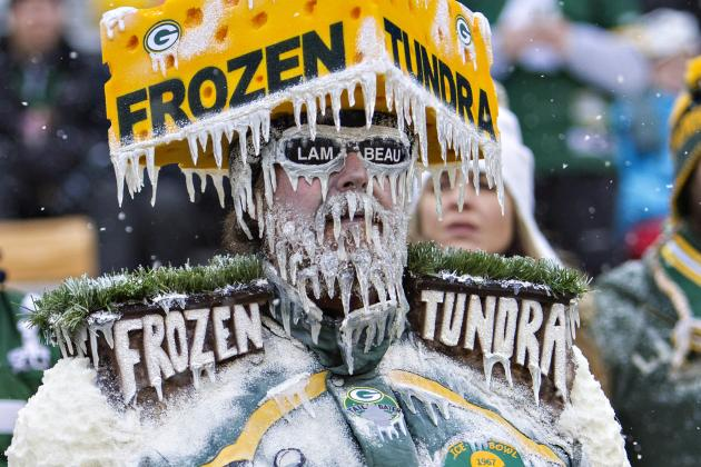 It Might Be Historically Cold for Packers Playoff Game in Green Bay