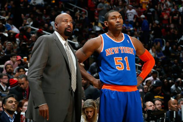Metta World Peace's Brother Isn't Confident About NY Knicks' Chances