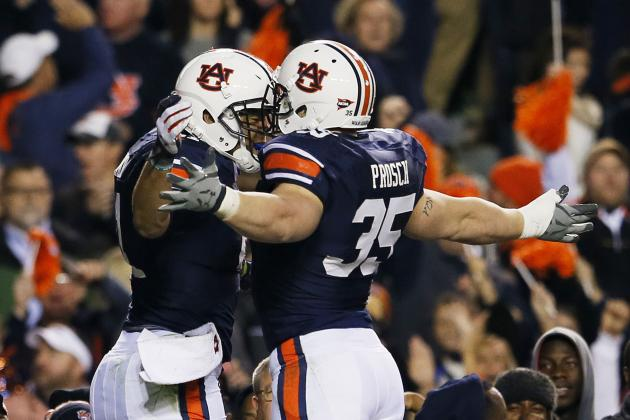 "Auburn Fullback Jay Prosch: ""We're Gonna Run the Ball Down Your Throat"""