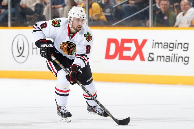 Will Chicago Blackhawks D-Man Nick Leddy Live Up to His Potential in 2013-14?