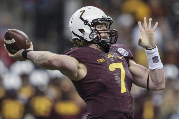 Two Gopher Passing Game Issues Not Named Nelson or Leidner
