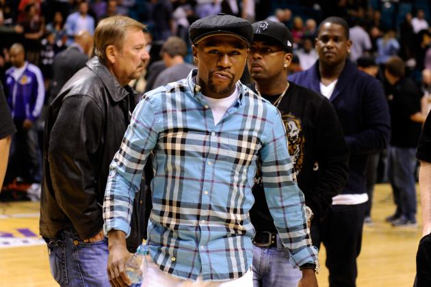 Floyd Mayweather Jr. Calls Manny Pacquiao Rumors 'A Lie'