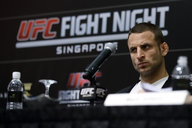 UFC Fight Night 34 Weigh-in Results: Saffiedine vs. Lim Fight Card