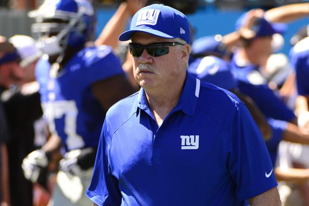 Giants Offensive Coordinator Kevin Gilbride Announces Retirement