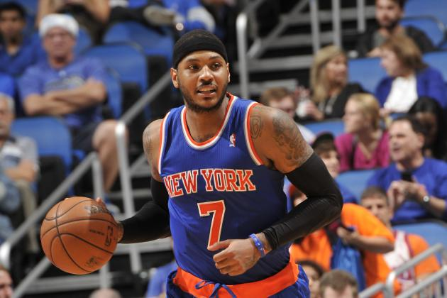 Lakers, Bulls, Clippers Reportedly Carmelo's Top Options If He Leaves Knicks