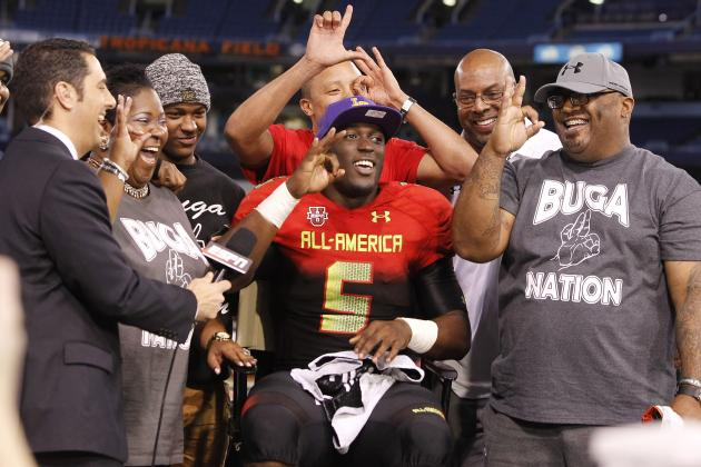 5-Star RB Leonard Fournette Commits, Saves Day for LSU at UA All-America Game