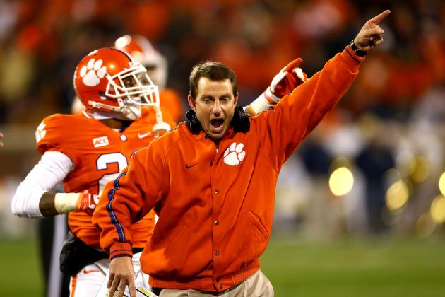 Can Dabo Swinney Get Redemption for 2011 Orange Bowl Embarrassment?
