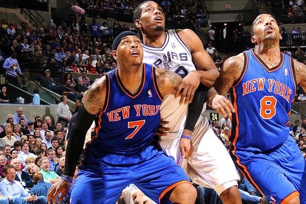 New York Knicks vs. San Antonio Spurs: Live Score and Analysis