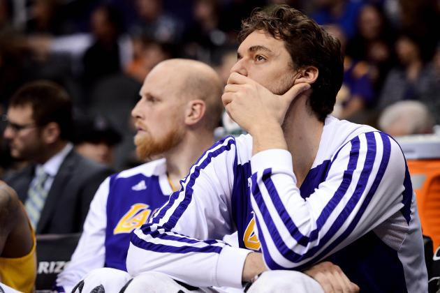 Los Angeles Lakers Won't Find Pau Gasol Deal Worth Making