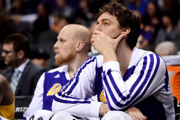 Los Angeles Lakers Won't Find Pau Gasol Deal Worth Making