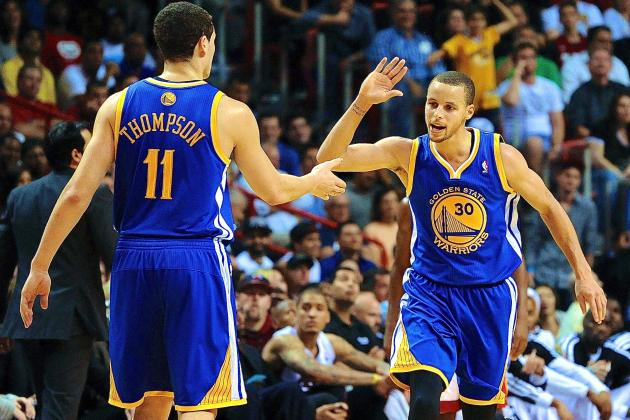 Full-Strength Golden State Warriors Are Among NBA Elite
