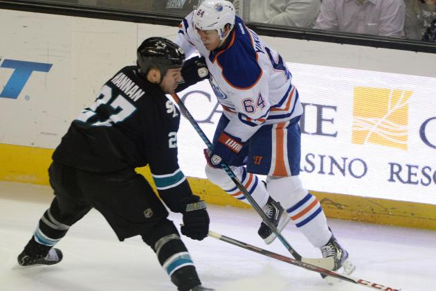 Sharks Bounce Back to Beat Oilers