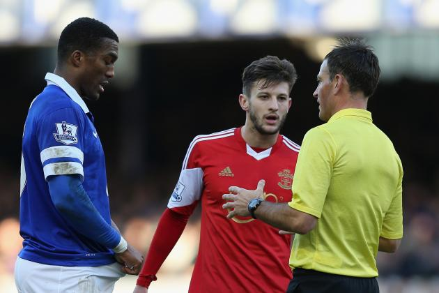 Mark Clattenburg Accused by Southampton of 'Abusing and Insulting' Adam Lallana