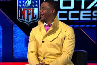 Clinton Portis Wore a Ridiculously Awesome Jacket on 'NFL All Access'