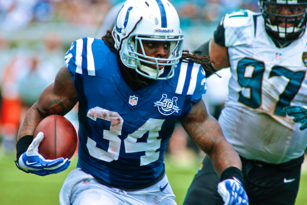 Colts' Trent Richardson Can Redefine Career by Busting out Against Chiefs