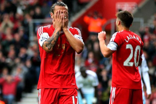 Pablo Daniel Osvaldo Gets 3-Match Ban, Fine for Melee vs. Newcastle United