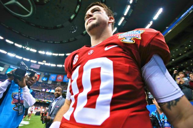 Sugar Bowl 2014: Despite the Loss, Alabama QB AJ McCarron Is a Legend