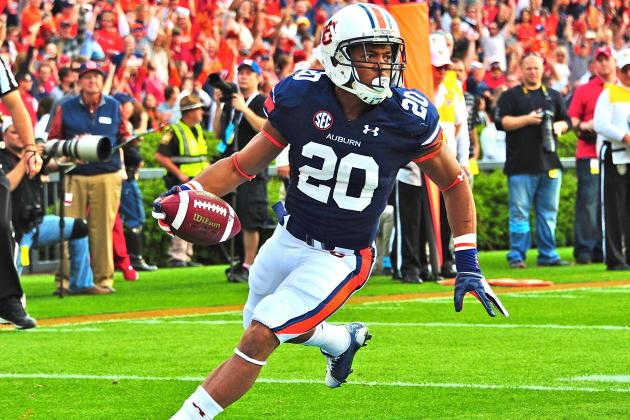 Auburn vs. Florida State: Don't Sleep on RB Corey Grant Exploding in Title Game