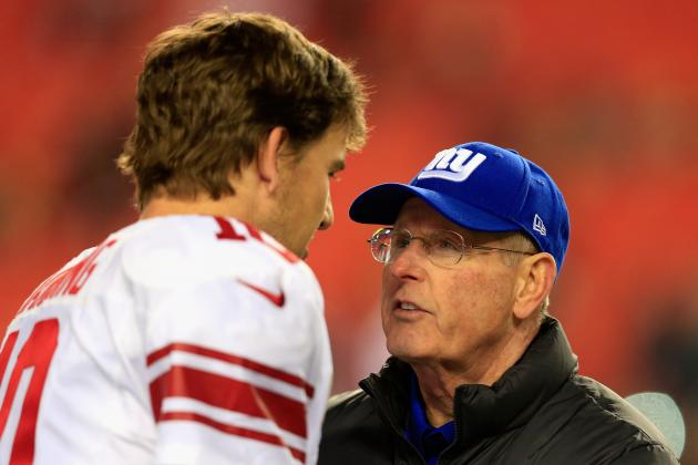 """Coughlin: Eli 'Lost an Element of Trust"""" with His Receivers This Season"""