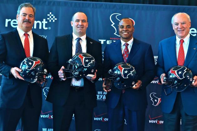 Houston Texans Open to Trading No. 1 Overall Pick in 2014 NFL Draft