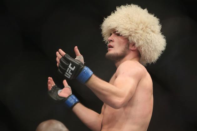 Gilbert Melendez vs. Khabib Nurmagomedov Removed from UFC 170