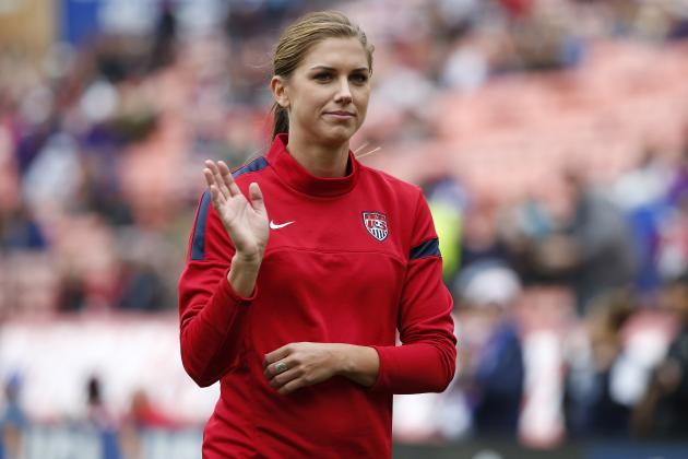 Alex Morgan out 'Several Weeks' with Stress Reaction in Left Ankle