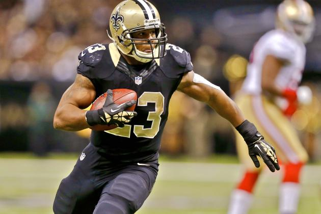 Pierre Thomas Injury: Updates on Saints RB's Chest and Return