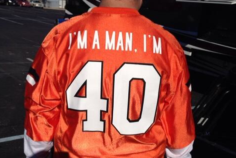 Oklahoma State Fan Makes 'I'm a Man, I'm 40' Jersey Based on Mike Gundy's Speech