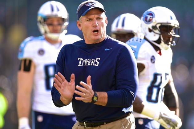 Mike Munchak Reportedly Won't Be Retained as Head Coach of Tennessee Titans