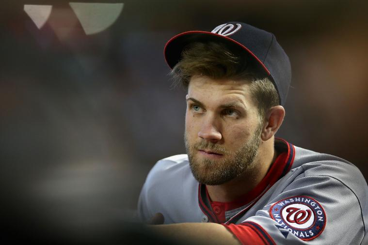 Bryce Harper Wants to Get 'As Big as a House' Before Spring Training
