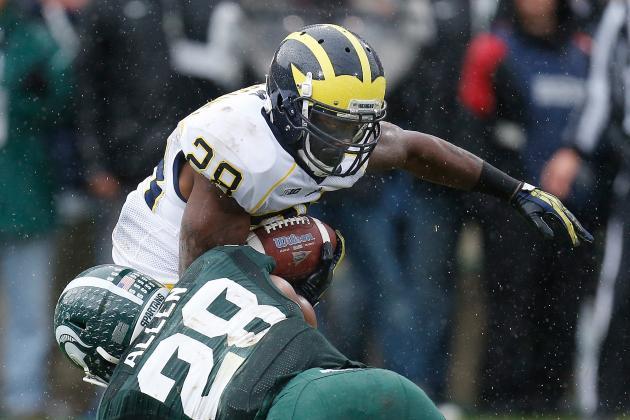 Michigan Football: 2014 Running Back Depth Chart Prediction
