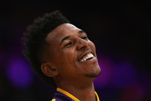 Nick Young Pretends to Be Kobe Bryant in Classic Swaggy P Interview