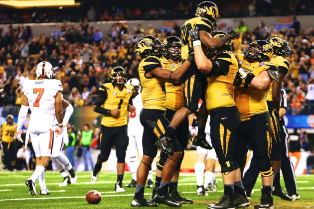 Cotton Bowl 2014 Oklahoma State vs. Missouri: Live Score and Highlights