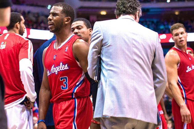 Chris Paul Injury Puts Major Pressure on Blake Griffin to Carry Clippers