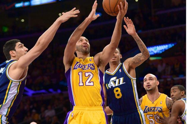 Utah Jazz vs. Los Angeles Lakers: Live Score, Highlights and Analysis