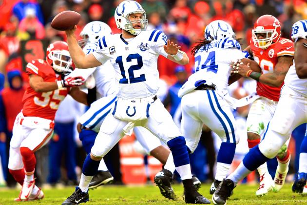 Breaking Down Andrew Luck and the Colts' On-the-Fly Offensive Reconstruction