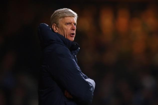 Wenger Desperate to See off Spurs