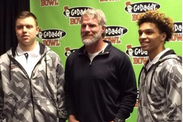 Favre's New Hobby: Beard Growing