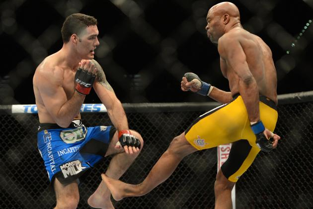 Chris Weidman: 'I Honestly Would Feel Bad' Fighting Anderson Silva Again