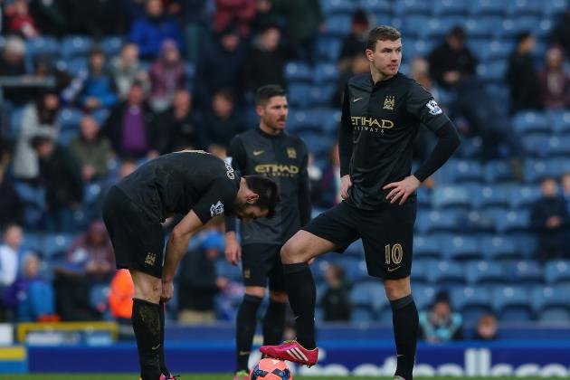 Manchester City's Lineup Merry-Go-Round Leaves Sky Blues Feeling Nauseous