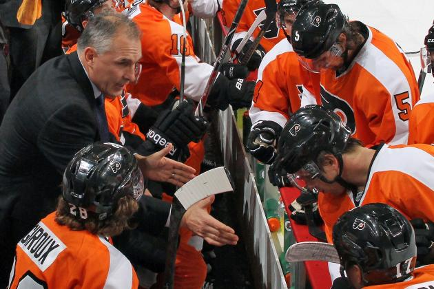 Berube Making Simple Fixes to Flyers' Offense