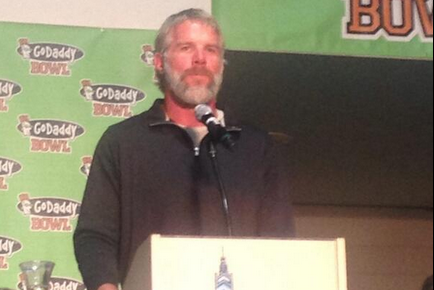 Brett Favre's Beard Is Looking Fierce These Days