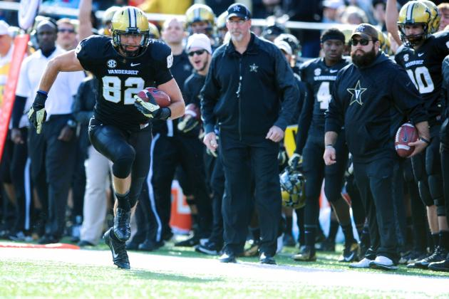 Compass Bowl 2014 Vanderbilt vs. Houston: Live Score and Highlights