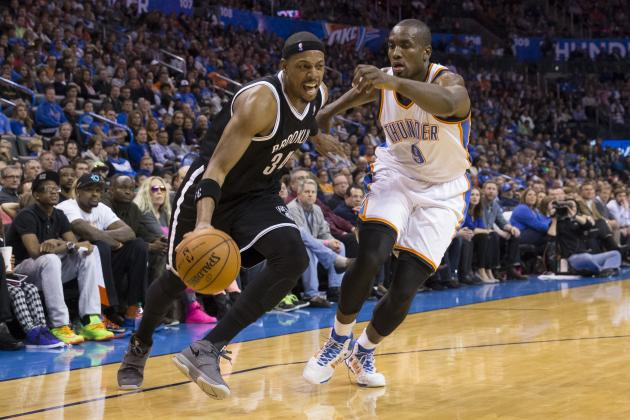 Paul Pierce Willing to Play Power Forward If Nets Keep Winning